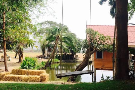 Wanlapa farmstay - Mueang Lop Buri District - Bungalow