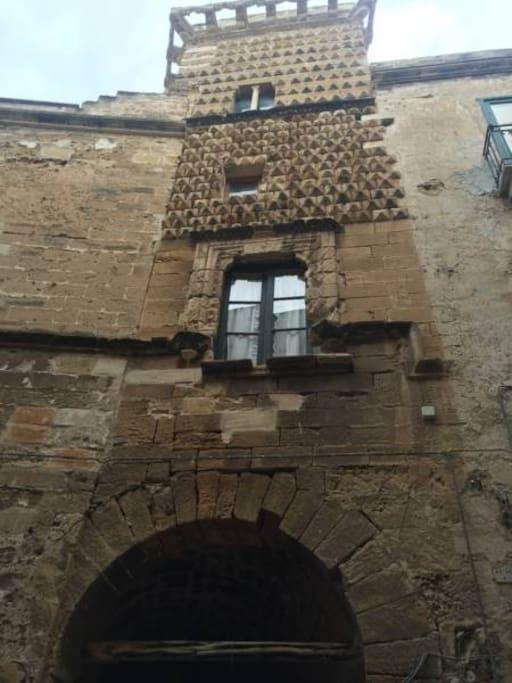 Palazzo Ciambra XIV sec.