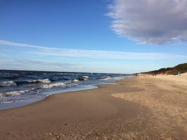 Międzywodzie Wohnung am Meer Insel Wolin