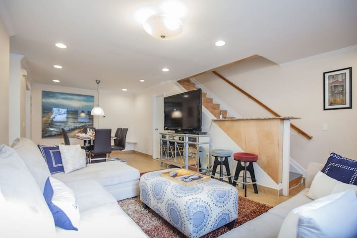 Beautiful apartment townhouse 3 bedoom in downtown - New York - House