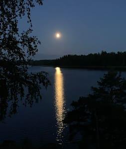 Lakeside hideaway 1 hour from Stockholm