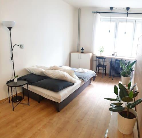 Lovely & cozy modern flat near the City center