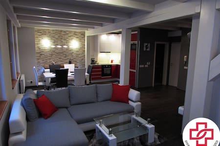 ❤️ In Centre Prague Large Design Flat ❤️