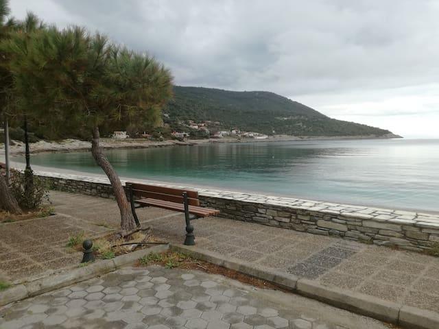 Aghios Nikolaos beach,Porto Germeno