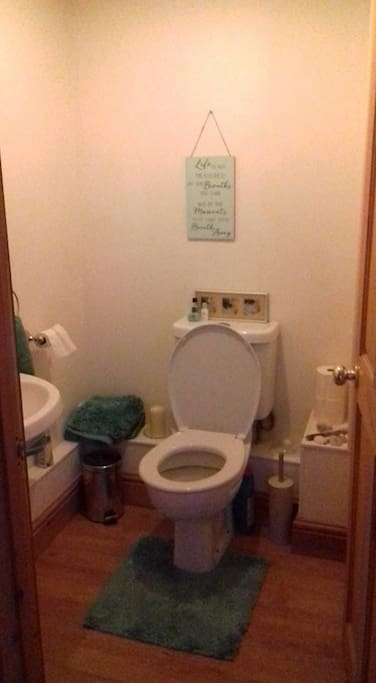Downstairs cloakroom and toilet.