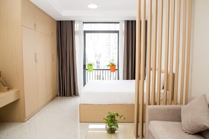 Peaceful Minimalist Studio Apartment