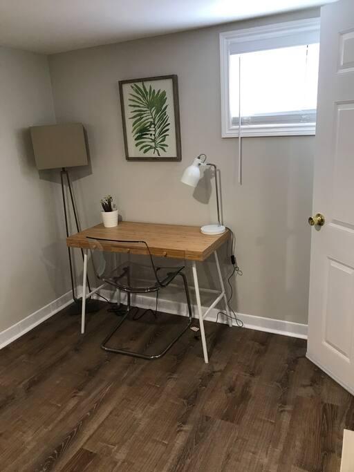 Modern Work Desk w/ Light