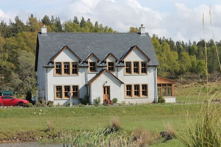 Ach-Na-Sidhe Loch Ness Hill Top B&B - Dores - Penzion (B&B)