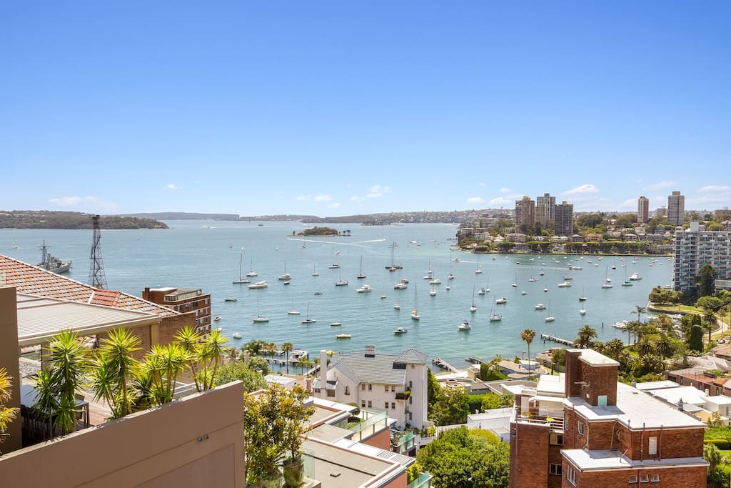 Uninterrupted Sydney Harbour views
