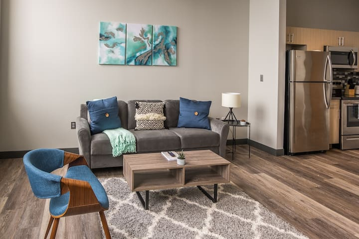 Lakefront 1BR Apt in Downtown