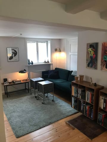 Authentic CPH flat in the very centre of town.