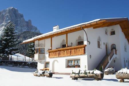 CESA SASPLAT - Selva Val Gardena Dolomites - La Selva - Wohnung