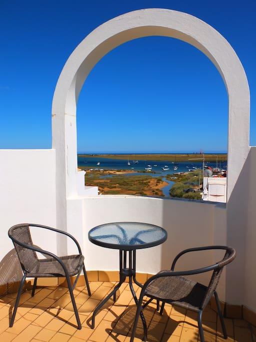 Superbe vue mer de la terrasse /Great view on the terrace