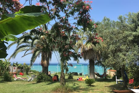 Beachfront villa with exotic garden in Kassandra - Polychrono - Villa