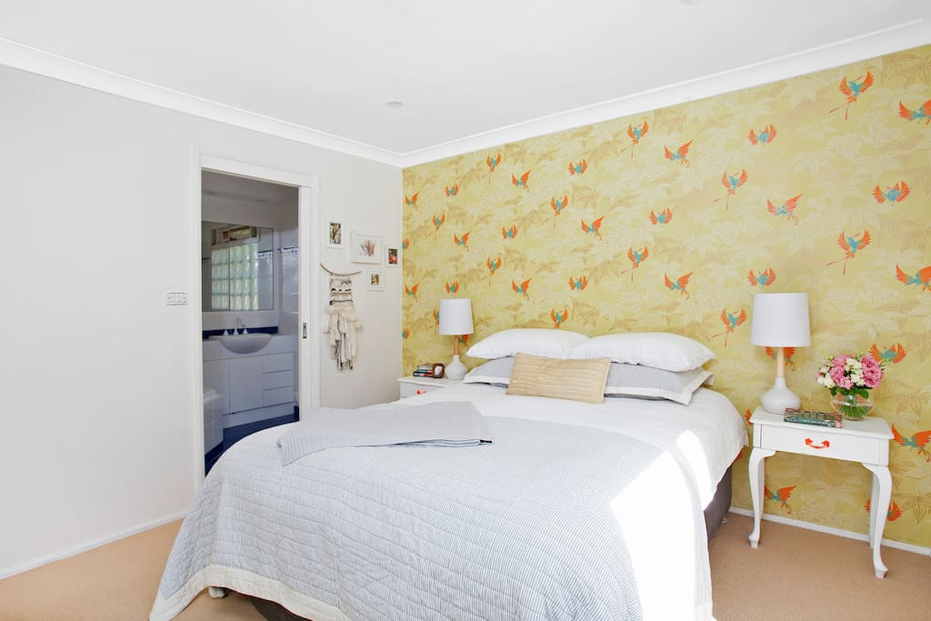 Master bedroom with ensuit