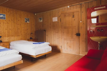 Twin / Double Room with Sofa Bed - Chalet