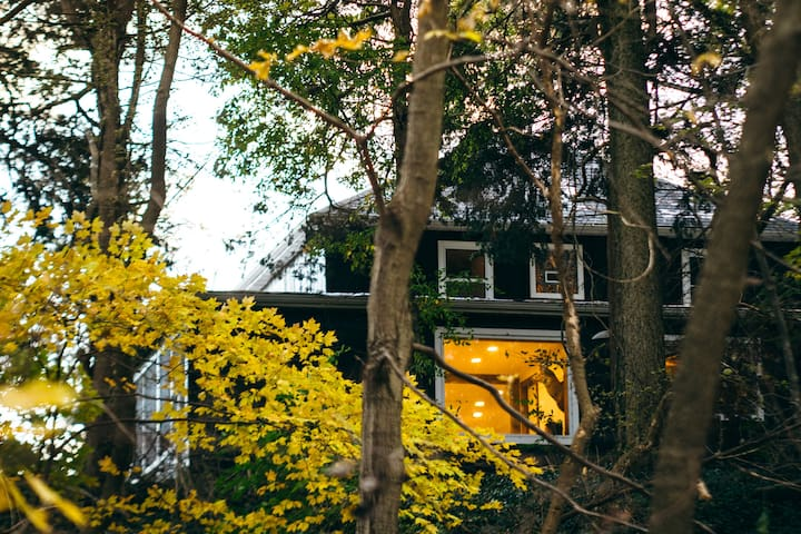 H&H Farmhouse - forested farmhouse getaway!