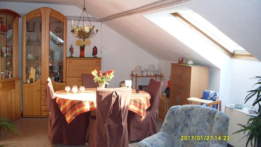Ruhige schöne Ferienwohnung Werra Meissner Kreis - Berkatal - Lägenhet