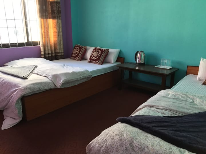 Nagarjun Eco Homestay - 2nd Floor Twin Room