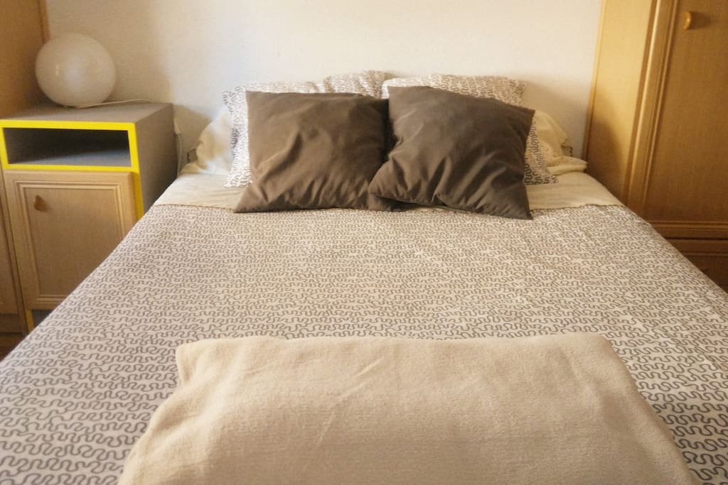 Cama doble/Double bed