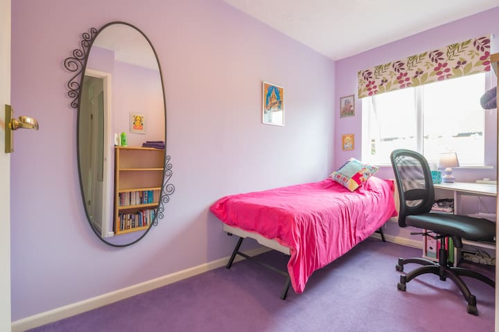 Bright single room with Wi-Fi in MK - Browns Wood - Casa