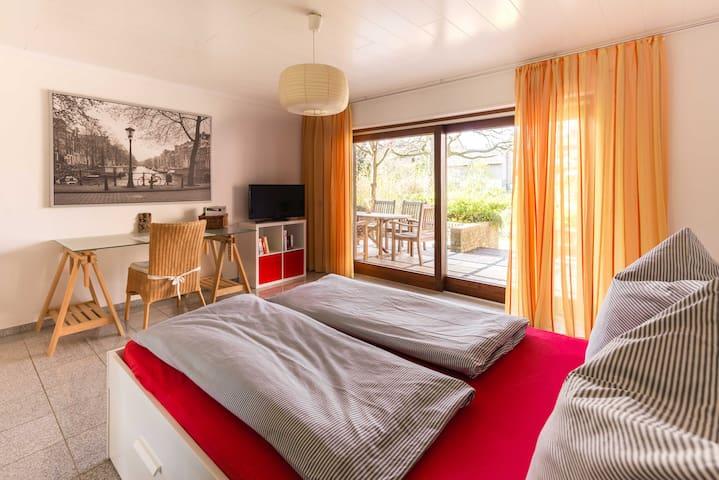 Gemütliche 2-Zimmer Wohnung-60m2-mit Südterrasse