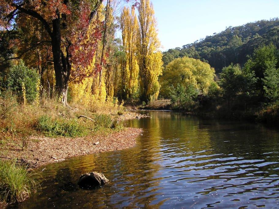 The heritage Howqua River