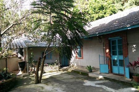 新社三合院,日式雙人房(2~3人)花海,古堡 - Xinshe District