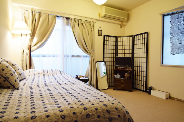 Easy access to Shibuya 5min! Wifi available.