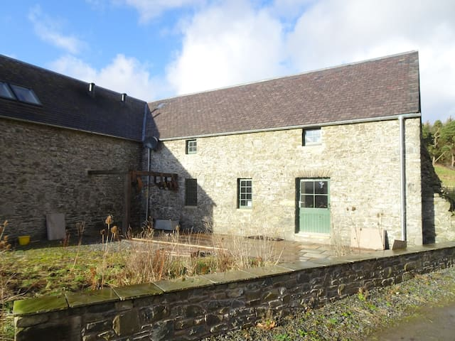 Historic mill in peaceful rural setting