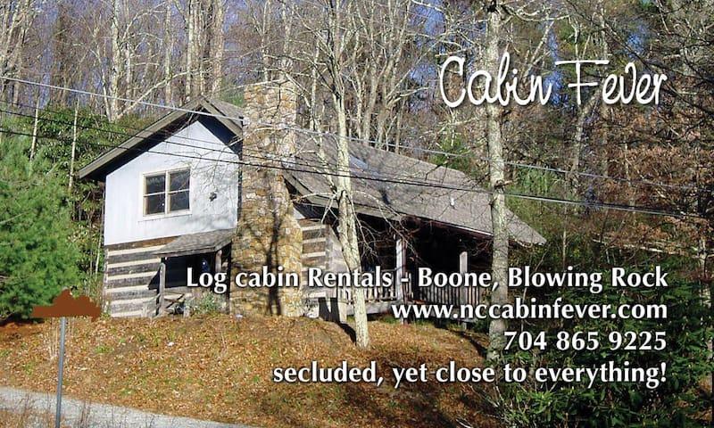 Spacious Log cabin in Blowing Rock - Blowing Rock - Cabaña