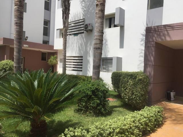Appartement situé dans un cadre très calme