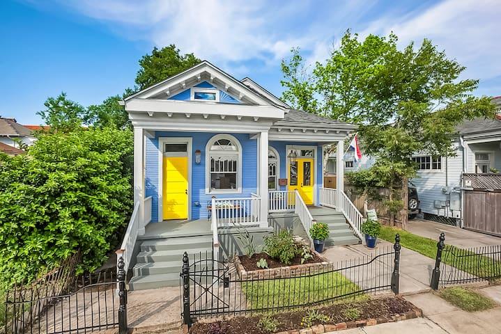 2 Bdrm suite in historic Bayou St. John shotgun