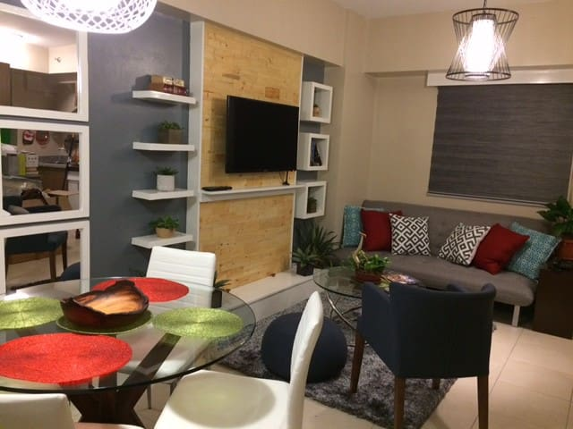 2BR Resort Condo NEAR ROCKWELL MAKATI - Mandaluyong - Appartement en résidence