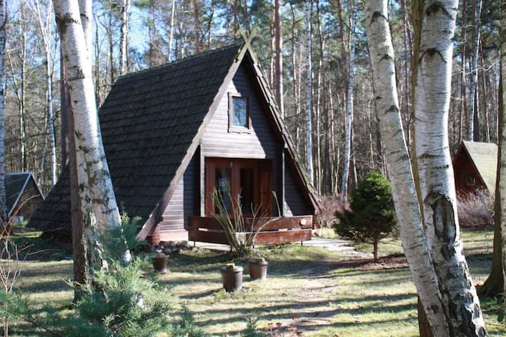 Idyllische Finnhütte am See inkl. Bike, Boat & Co.