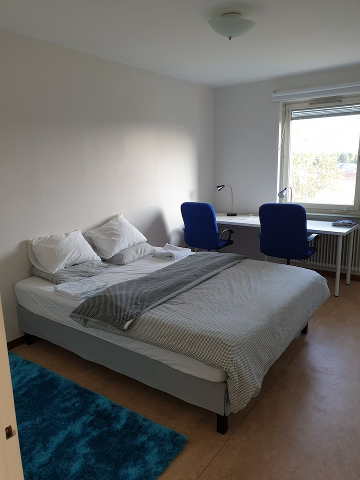 room in Luleå, calm area, suitable for studentes