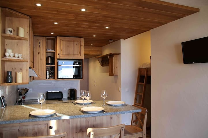 Self catering apartement Val Thorens 4 persons