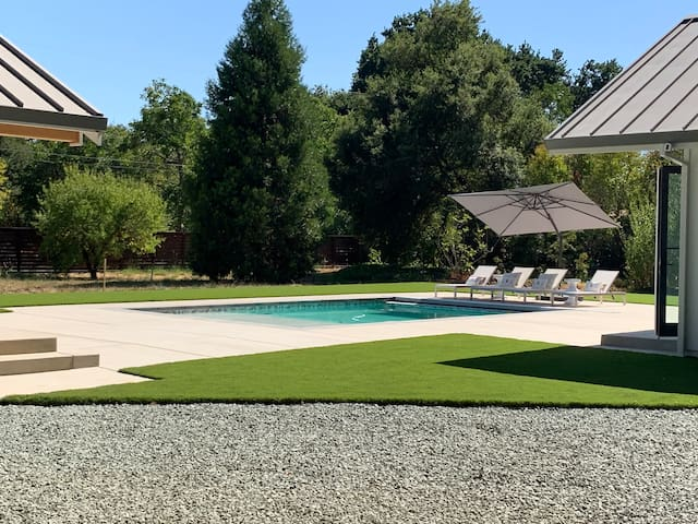 Persimmon Villa- Main and Pool House