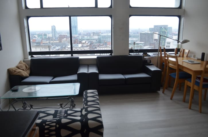 Lovely flat with great views in Central Manchester - Salford - Apartamento