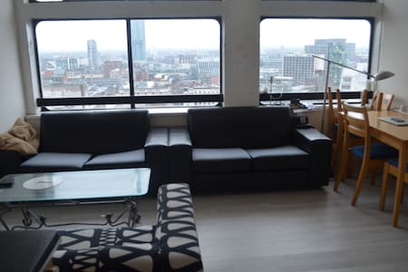Lovely flat with great views in Central Manchester - Salford - Lägenhet