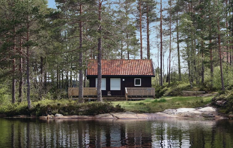 Holiday cottage with 1 bedroom on 30m² in Vatnestrøm
