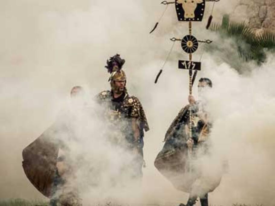 Fiesta de Carthagineses y Romanos del 15 al 24 de Septiembre