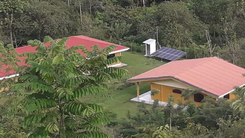 Sustainable Organic farm house in Costa Rica.