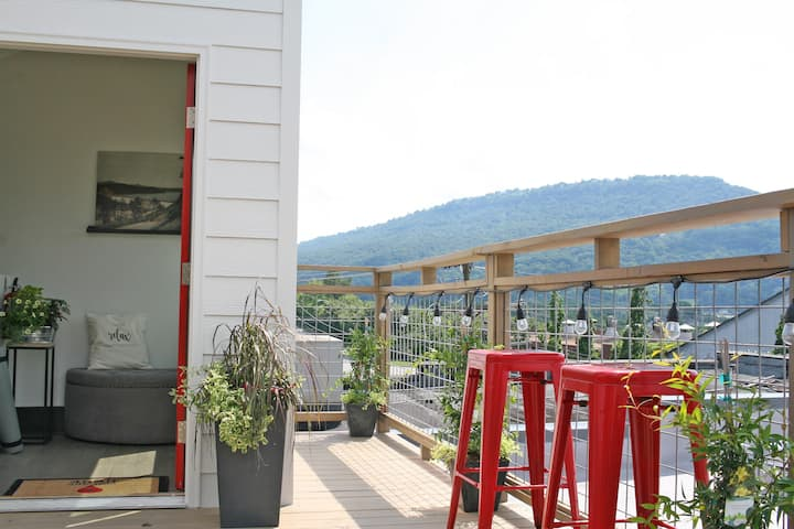 Relax Chattanooga Luxury Penthouse + Rooftop Deck!