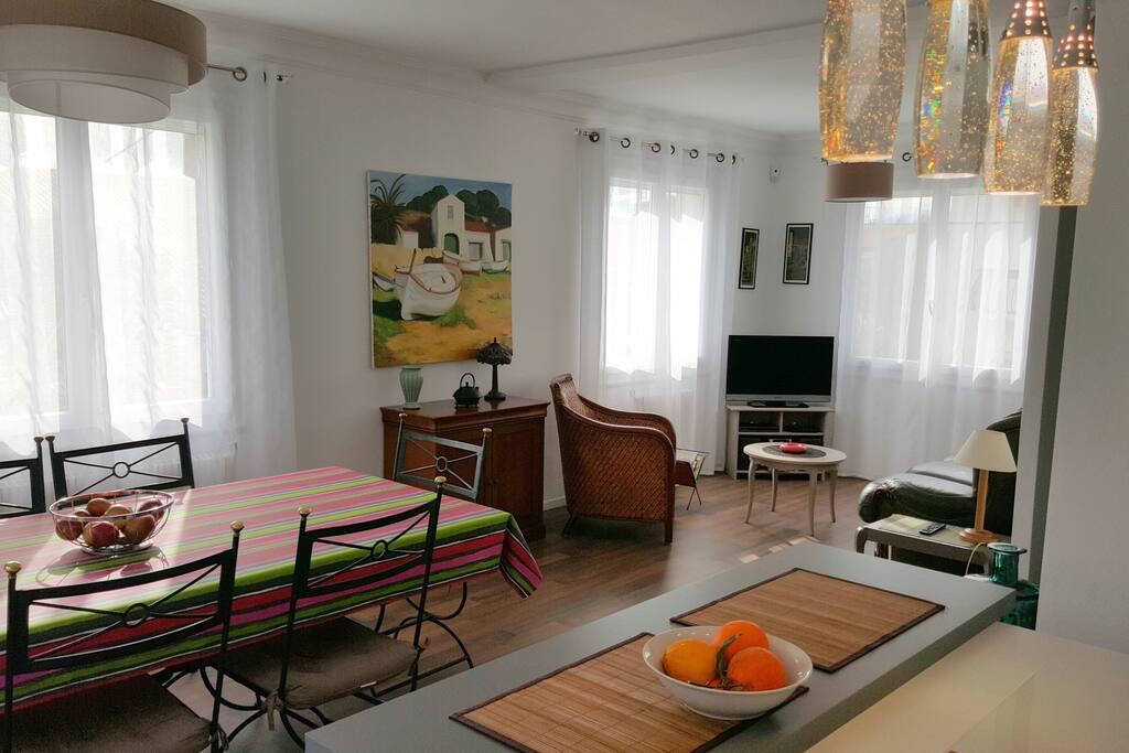 Appartement lumineux avec jardin perpignan 66 for Cuisine 66 perpignan