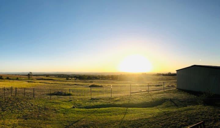Sunsets on Verney