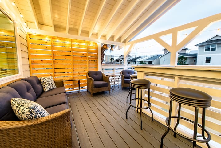 ☀Tree House at the Beach-2BR☀Book for Spring Break! HugeBalcony! Upgraded!
