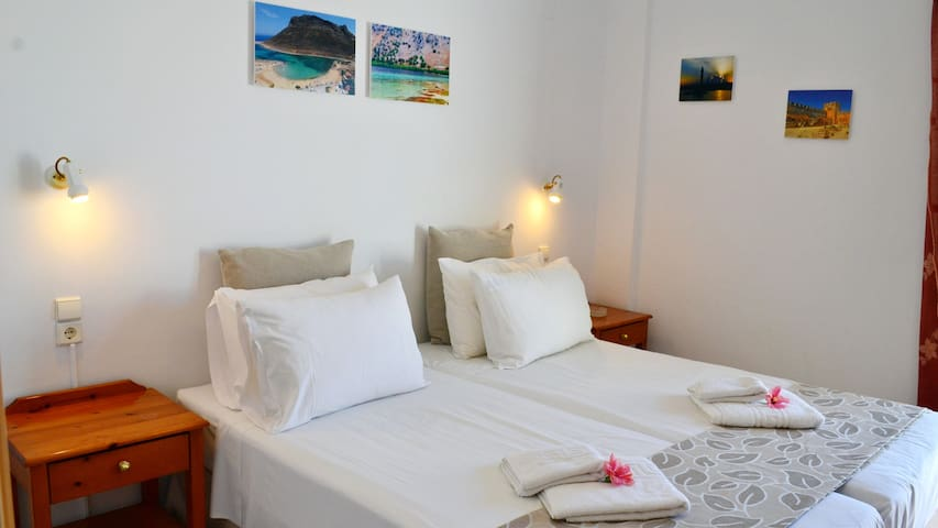 Melina's House Apartment 2-4 persons,7km by Chania - Stalos - Διαμέρισμα