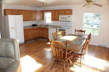 First Floor Kitchen Range / Oven, Refrigerator Microwave