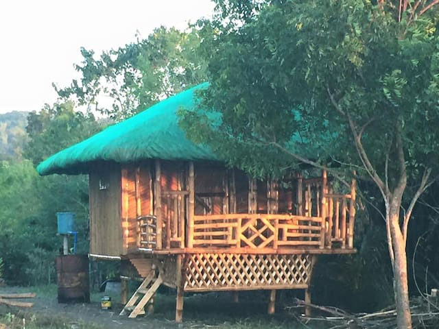 Bamboo Huts - Beach Front#1